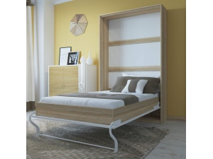 Folding wall  bed Size 120 x 200 cm
