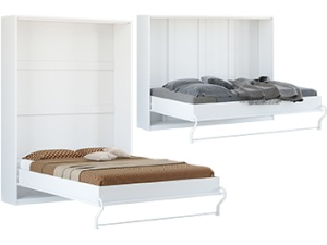 Folding wall  bed Size 140 x 200 cm