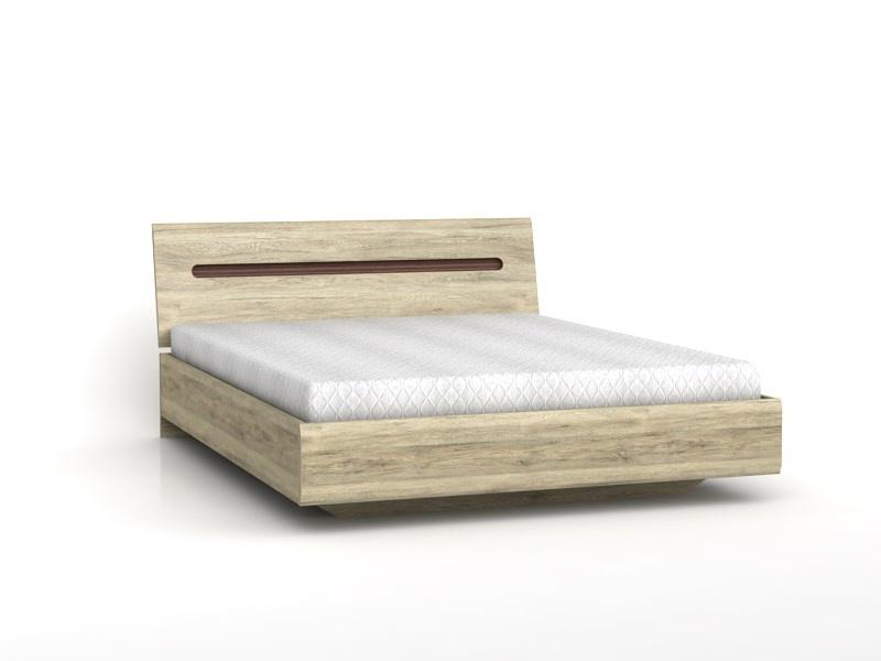 doppelbett 160 cm azteca eiche san remo 367 95. Black Bedroom Furniture Sets. Home Design Ideas