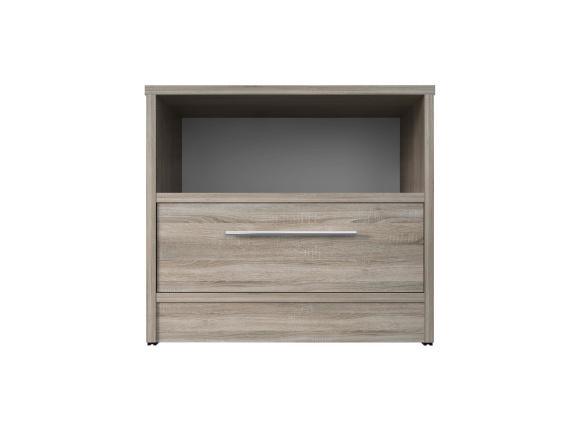 smartbett nachttisch mit einer schublade eiche sonoma 51 95. Black Bedroom Furniture Sets. Home Design Ideas