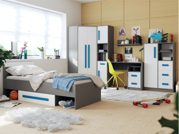 kinder jugendzimmer sets. Black Bedroom Furniture Sets. Home Design Ideas