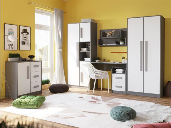 kinder jugendzimmer sets. Black Bedroom Furniture Sets. Home Design Ideas