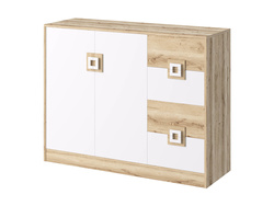 NIKI Highboard chest of drawers 2-door with 4 drawers...