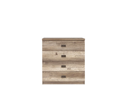 Malkolm Sideboard Dresser 80cm Oak Canyon with writing...