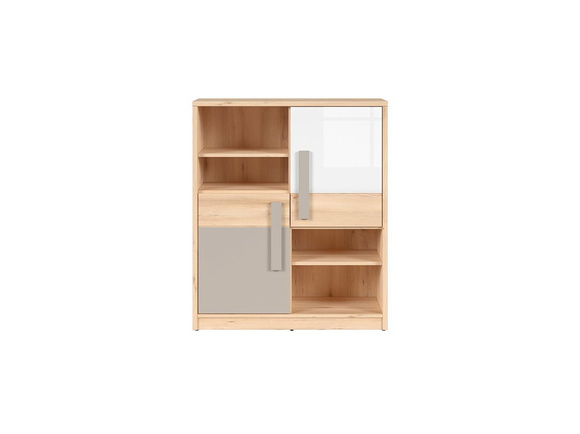 nameck schrank schrankregal 2 t rig in buche nachbildung wei sz. Black Bedroom Furniture Sets. Home Design Ideas