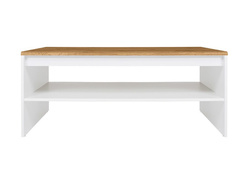 HOLSTEN cofee table in white / oak