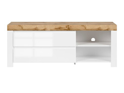 HOLSTEN TV & HiFi Lowboard TV cabinet 156cm in white /...