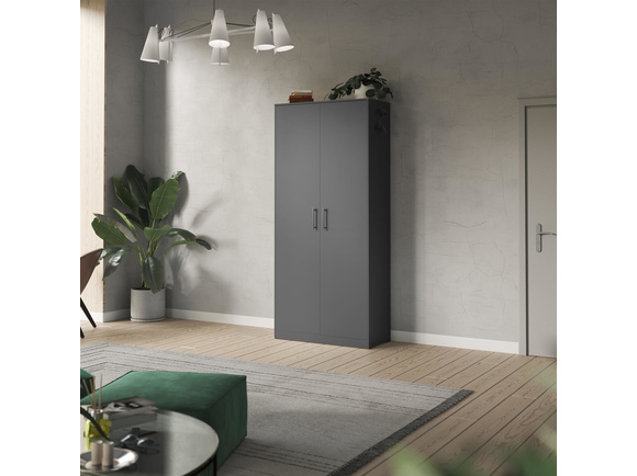 SMARTBett cabinet 100cm 2 doors in anthracite