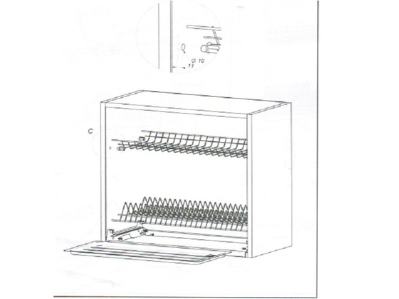Abtropfgestell zum Küchenschrank Variant 90 cm, 22,95 €